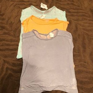 Women's Calvin Klein 3 pack shirts sz large